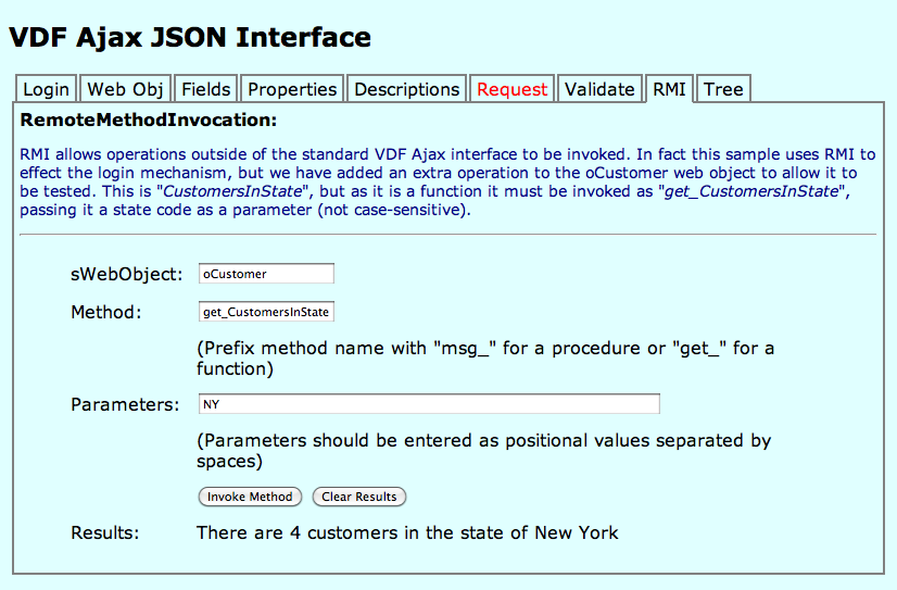 Ajax JSON HTML and JavaScript Client image 1