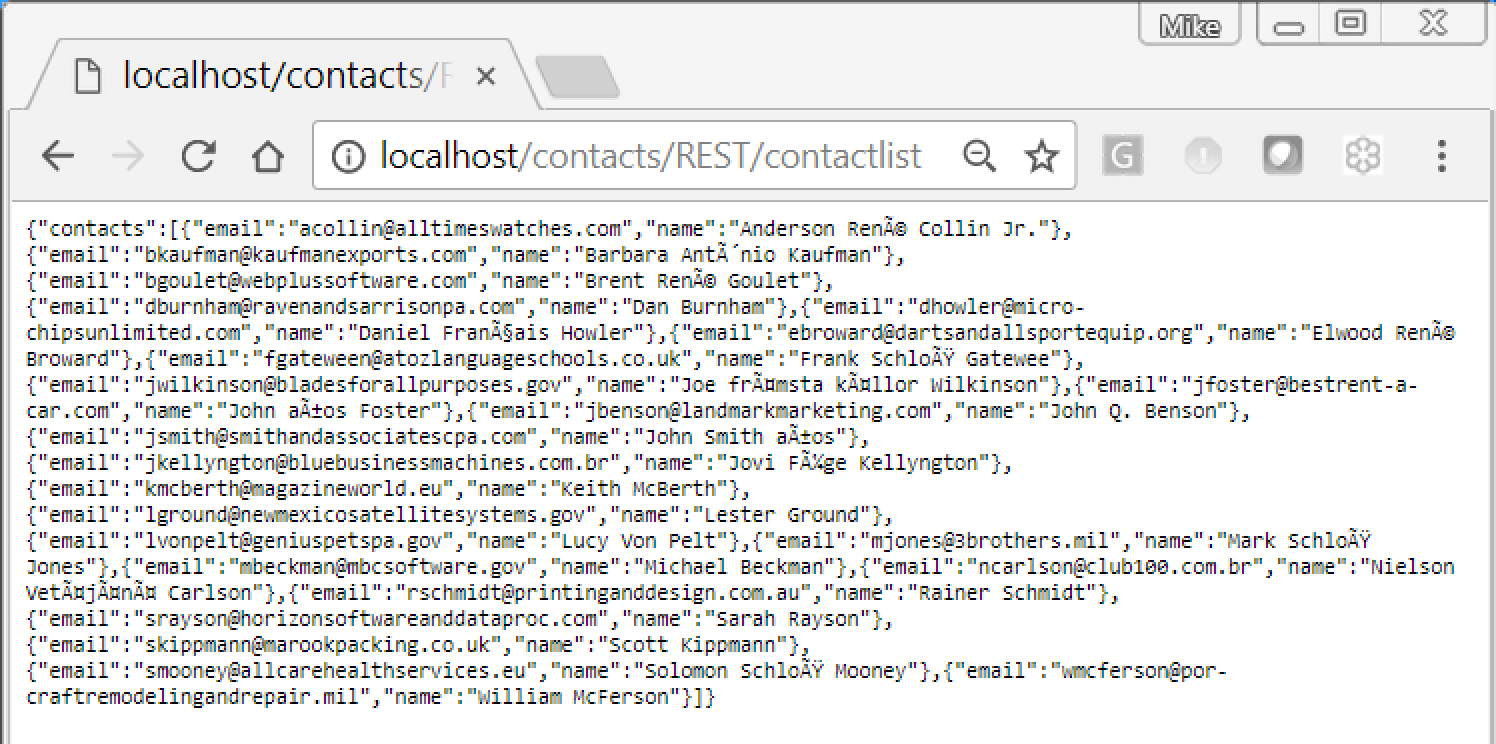 RESTful JSON Web Services example 14