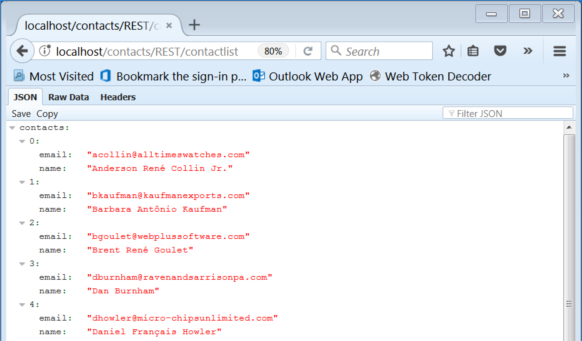 RESTful JSON Web Services example 16
